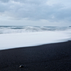 The Black Volcanic Sands of The South Coast of Iceland