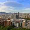 View from Montjuic Mountain, Barcelona