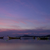 Rawai at dawn, Long Tail Boats (Phuket, Thailand)