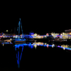 Padstow Harbour Christmas Lights 2012, Cornwall
