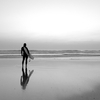 Silhouette Surfer, Newquay