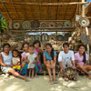 In Baclayan we visited Marilyn Tupas, who with a group of 22 Mangyan women basket weave and share the income.