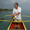 Local Fisherman, Vic Zulueta who very kindly took me on a tour of where he fished nr Calapan, MIndoro, Philippines